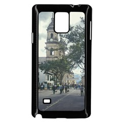 Cathedral At Historic Center Of Bogota Colombia Edited Samsung Galaxy Note 4 Case (Black)
