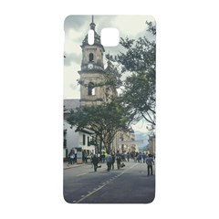 Cathedral At Historic Center Of Bogota Colombia Edited Samsung Galaxy Alpha Hardshell Back Case