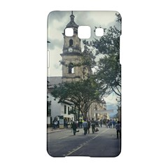 Cathedral At Historic Center Of Bogota Colombia Edited Samsung Galaxy A5 Hardshell Case