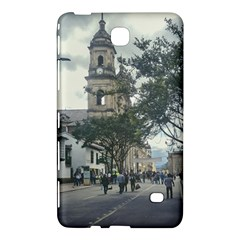 Cathedral At Historic Center Of Bogota Colombia Edited Samsung Galaxy Tab 4 (7 ) Hardshell Case