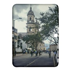 Cathedral At Historic Center Of Bogota Colombia Edited Samsung Galaxy Tab 4 (10 1 ) Hardshell Case