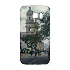 Cathedral At Historic Center Of Bogota Colombia Edited Galaxy S6 Edge