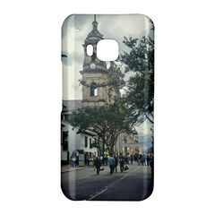 Cathedral At Historic Center Of Bogota Colombia Edited HTC One M9 Hardshell Case