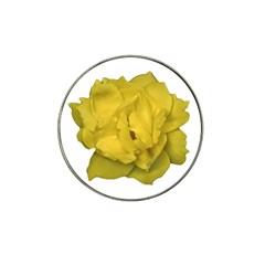 Isolated Yellow Rose Photo Hat Clip Ball Marker (4 Pack)