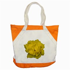 Isolated Yellow Rose Photo Accent Tote Bag