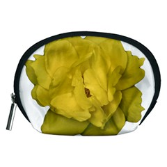 Isolated Yellow Rose Photo Accessory Pouches (medium)