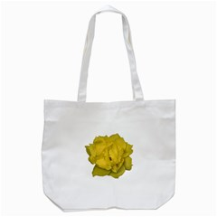 Isolated Yellow Rose Photo Tote Bag (White)