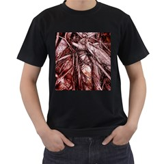 The Bleeding Tree Men s T Shirt (black) (two Sided)