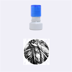 The Bleeding Tree Rubber Round Stamps (small)