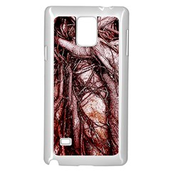 The Bleeding Tree Samsung Galaxy Note 4 Case (white)