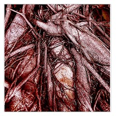 The Bleeding Tree Large Satin Scarf (Square)