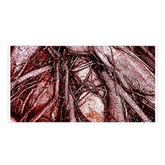 The Bleeding Tree Satin Shawl
