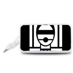 Bondage Portable Speaker (White)