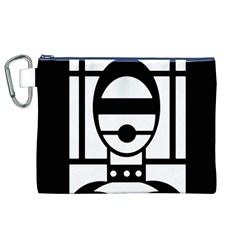 Bondage Canvas Cosmetic Bag (XL)