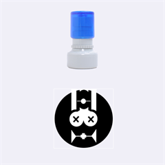 Restraint Rubber Round Stamps (Small)