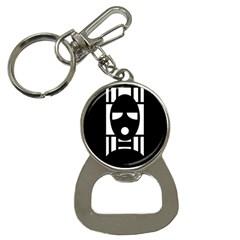 Masked Bottle Opener Key Chains