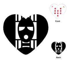 Masked Playing Cards (Heart)