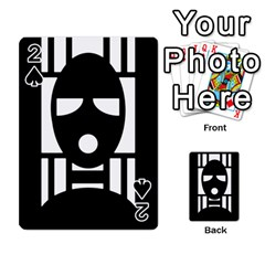 Masked Playing Cards 54 Designs