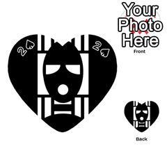 Masked Playing Cards 54 (heart)