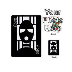 Masked Playing Cards 54 (Mini)
