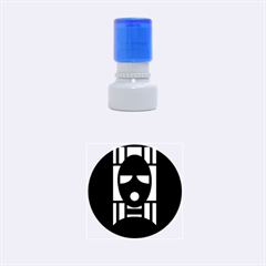 Masked Rubber Round Stamps (Small)
