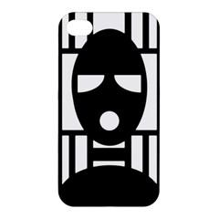 Masked Apple Iphone 4/4s Hardshell Case