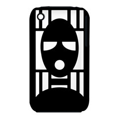 Masked Apple Iphone 3g/3gs Hardshell Case (pc+silicone)