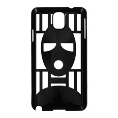 Masked Samsung Galaxy Note 3 Neo Hardshell Case (black)