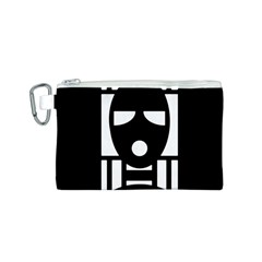 Masked Canvas Cosmetic Bag (S)