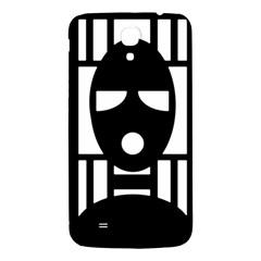 Masked Samsung Galaxy Mega I9200 Hardshell Back Case