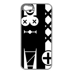 Tied Up Apple Iphone 5 Case (silver)