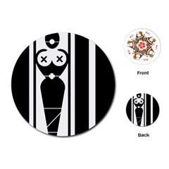 Submissive Playing Cards (Round)