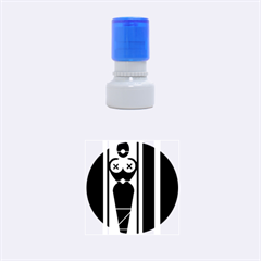 Submissive Rubber Round Stamps (small)