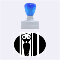 Submissive Rubber Oval Stamps
