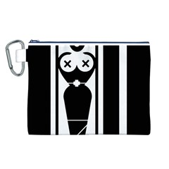Submissive Canvas Cosmetic Bag (l)