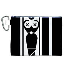 Submissive Canvas Cosmetic Bag (xl)