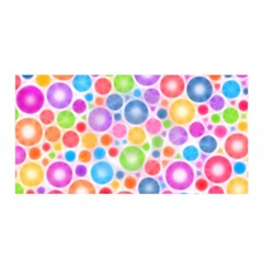 Candy Color s Circles Satin Wrap