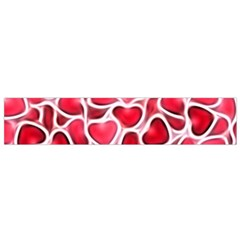 Candy Hearts Flano Scarf (small)