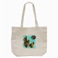 Wolves Shiney Grim Moon 3000 Tote Bag (Cream)