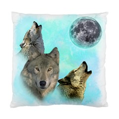 Wolves Shiney Grim Moon 3000 Standard Cushion Case (one Side)