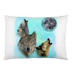 Wolves Shiney Grim Moon 3000 Pillow Cases (two Sides)