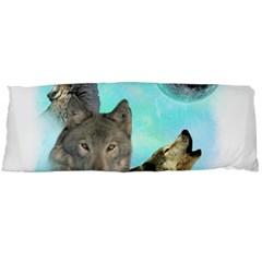 Wolves Shiney Grim Moon 3000 Body Pillow Cases Dakimakura (Two Sides)