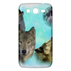 Wolves Shiney Grim Moon 3000 Samsung Galaxy Mega 5 8 I9152 Hardshell Case