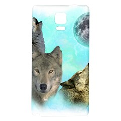 Wolves Shiney Grim Moon 3000 Galaxy Note 4 Back Case