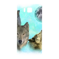 Wolves Shiney Grim Moon 3000 Samsung Galaxy Alpha Hardshell Back Case