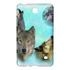 Wolves Shiney Grim Moon 3000 Samsung Galaxy Tab 4 (8 ) Hardshell Case