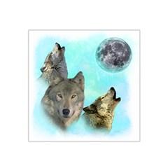 Wolves Shiney Grim Moon 3000 Satin Bandana Scarf