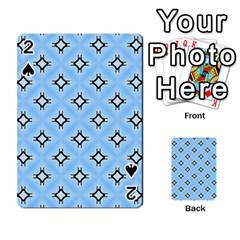 Cute Pretty Elegant Pattern Playing Cards 54 Designs