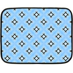 Cute Pretty Elegant Pattern Double Sided Fleece Blanket (mini)