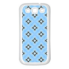 Cute Pretty Elegant Pattern Samsung Galaxy S3 Back Case (white)